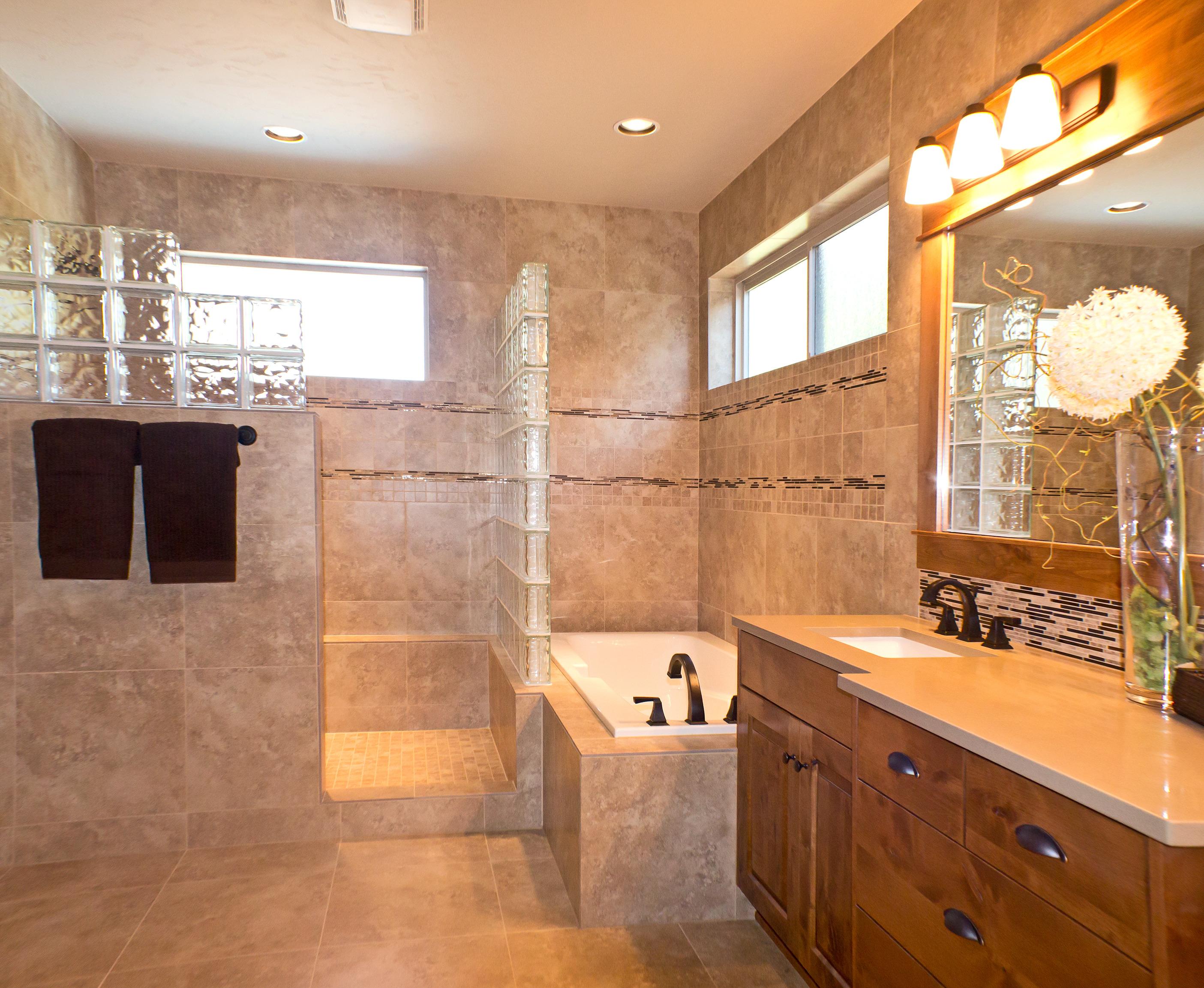 Home Improvement Project Bathroom Renovation LPU Homes - Home improvement bathroom remodel